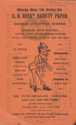 Advert for 'CH Ross Variety Paper', comic